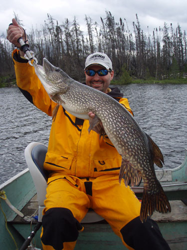 Monster Pike Fly-In Fishing